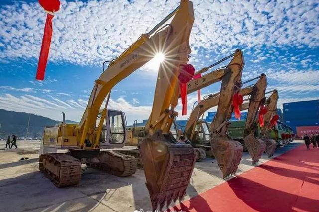 北仑举行百亿工业项目集中开工活动仪式 涉及多个新兴产业