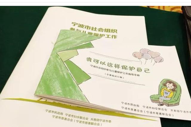 《宁波市社会组织参与儿童保护工作指导手册》发布