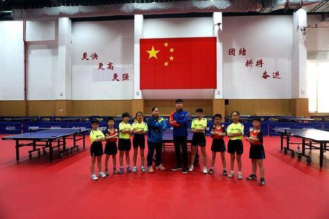 全国青少年儿童乒乓球集训在宁波市小球训练中心开训