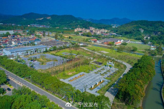 慈城又一海绵公园建成开放