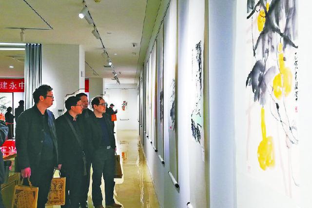 黄建永作品展在宁波荣宝斋展出 将持续至明年1月6日