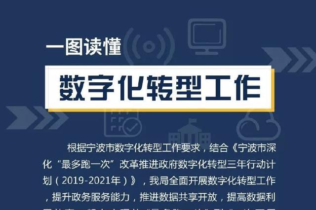 宁波市数字化转型工作推进 一图读懂数字化转型工作