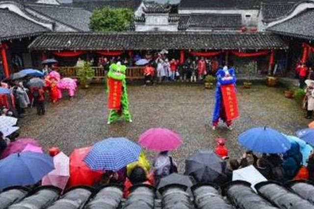 千年古镇宁海前童邀外国友人体验中国传统年俗