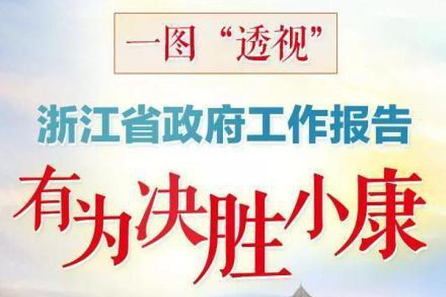 浙江省政府工作报告 新的一年要坚持八八战略再深化