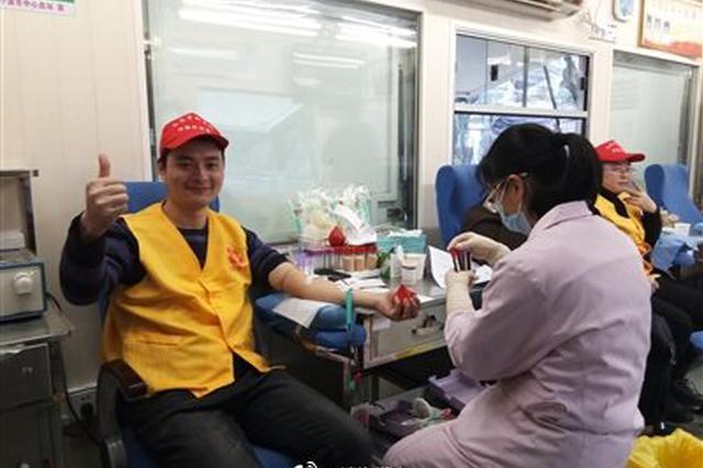 镇海60多名异乡人无偿献血后再回家