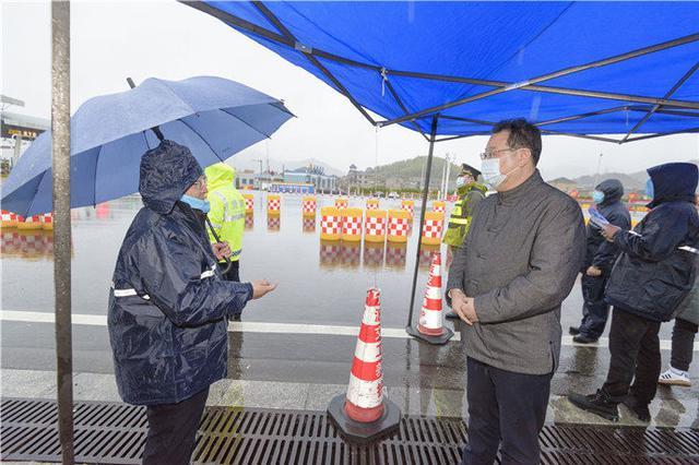 大年初一 象山县委书记叶剑鸣一线检查疫情防控工作
