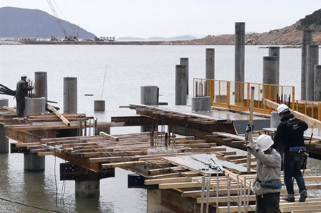 亚帆中心工程重启建设快进键 快马扬鞭加速推进