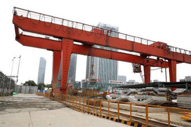 宁波地铁5号线1期新进展 已有13个车站主体结构封顶