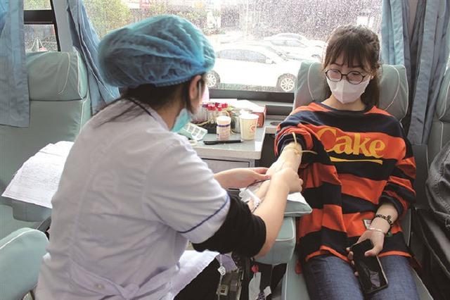象山墙头镇组织开展献血活动 本次共有60人成功献血