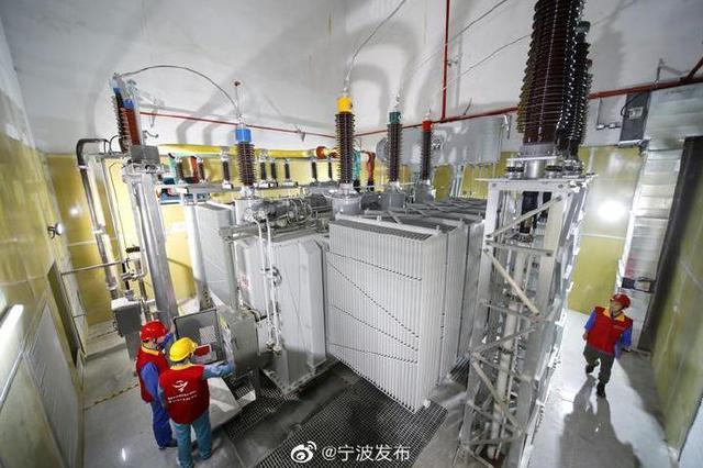 浙江省首座110千伏智能公用地下变电站在甬正式投运