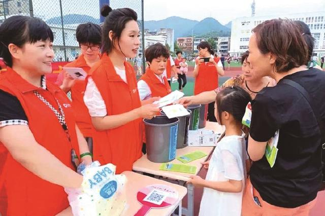 象山举办垃圾分类科普竞猜活动 吸引居民热情参加