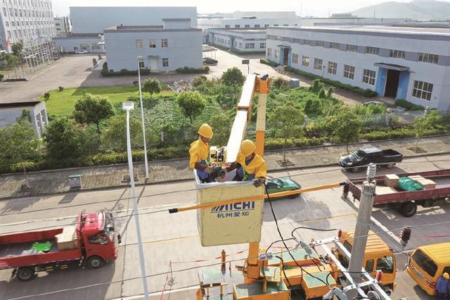 象山供电公司短时间内为企业增容改造 护航企业发展