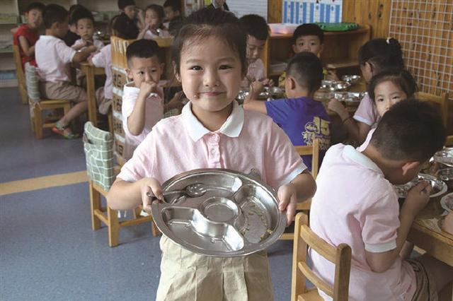 象山组织开展光盘行动 倡导幼儿树立节约粮食的意识