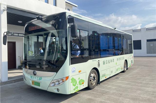 象山首条廉政文化主题公交线路开通 6辆公交车上路