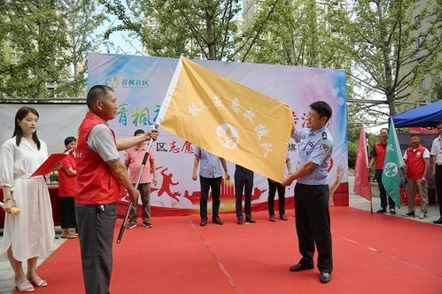 九龙湖开展防诈骗宣传进社区活动 维护辖区群众利益