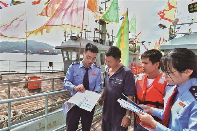 """象山石浦开展税收宣传活动 并宣讲税收""""渔""""政策"""