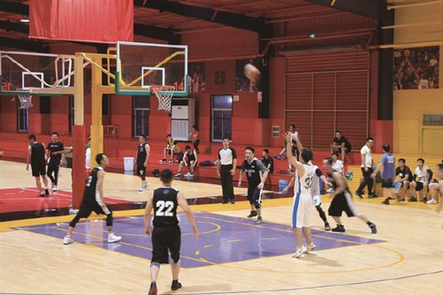 象山丹西街道举办职工篮球赛 100余名职工运动员参加