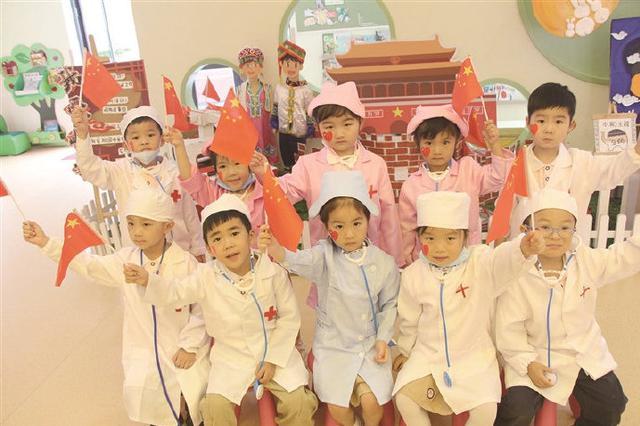 象山开展迎中秋庆国庆系列活动 让小朋友激发爱国情