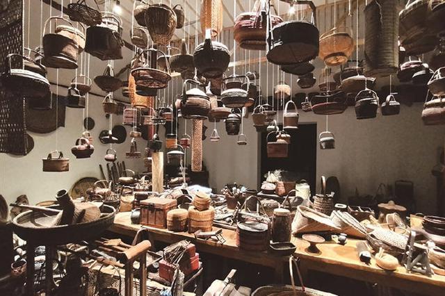象山老粮仓变身竹文化艺术馆 为老建筑赋予新的生命