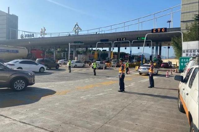北仑开展高速出入口专项整治 切实保护公路安全畅通