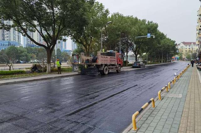 奉化道路品质提升稳步推进 城市主干道路将路面改造