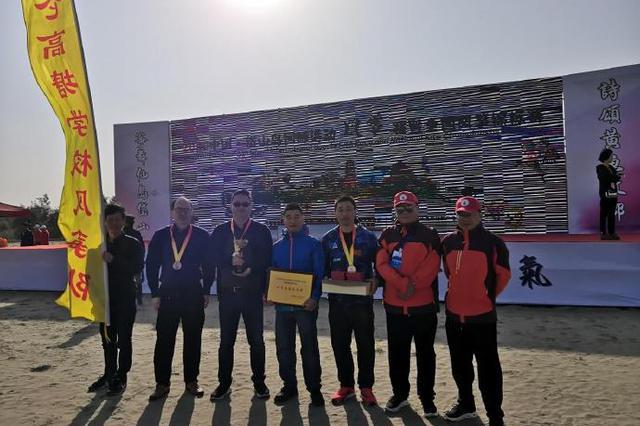 北仑代表队在国际风筝锦标赛中获三金 并获团体第4