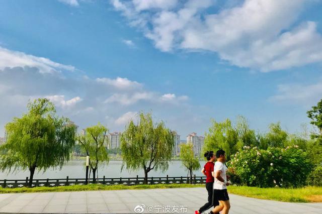 """江北姚江北岸滨水绿道荣获第四届""""浙江最美绿道"""""""