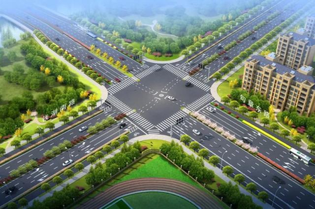 鄞南片区又一条主干道开工 该片区交通将得到完善