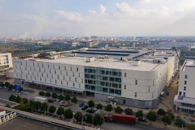 海曙新能源项目雏形初具 总建筑面积为10.89万平方米