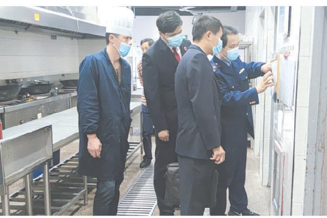 宁海检查中小学校的学生食堂 筑牢校园食品安全防线