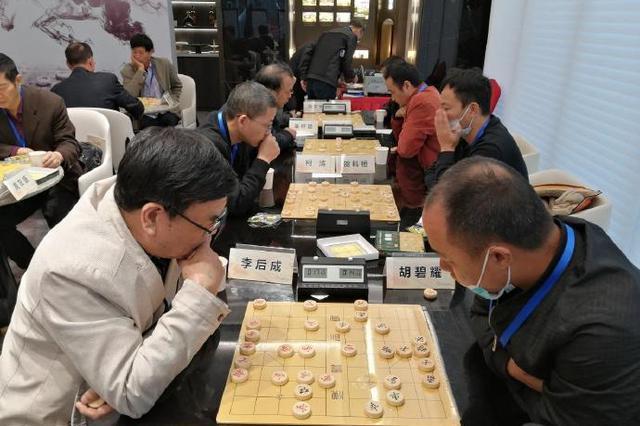 北仑举行首届象棋名人赛 吸引全区40名象棋高手参加