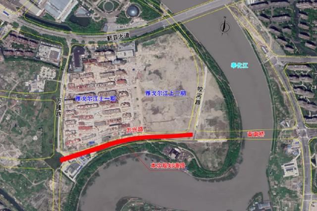 甬发布万兴路道路工程规划公示 公示时间至12月2日