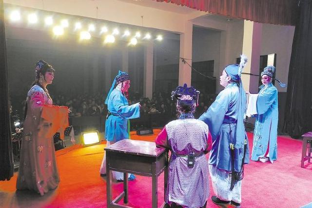 慈溪海晏越剧团连演五天 为村民献上丰盛的文化大餐