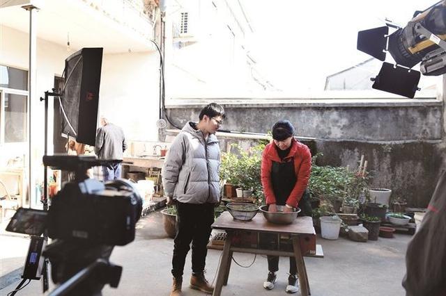 《美食中国》栏目组来奉化拍摄 节目将于春节间播出