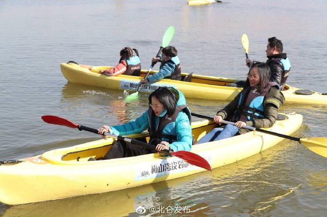 北仑举行新年第一划活动 吸引多名皮划艇爱好者参与
