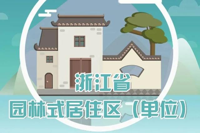 浙江公布居住区等示范名单 宁波十二个居住区上榜