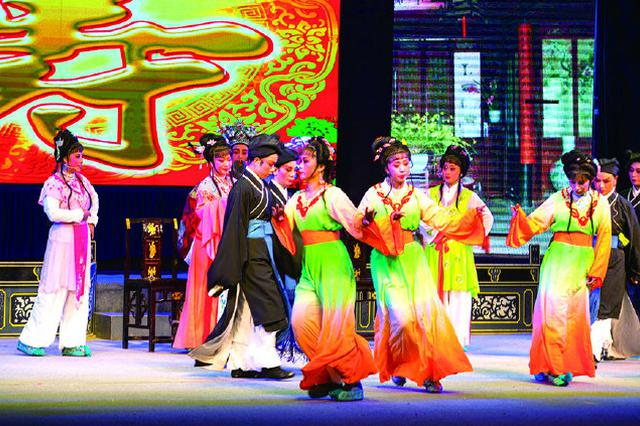 象山民营剧团展演活动拉开大幕 营造浓浓的新年氛围
