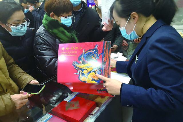 象山人民排队购买特种邮票 线上线下同步开启销售