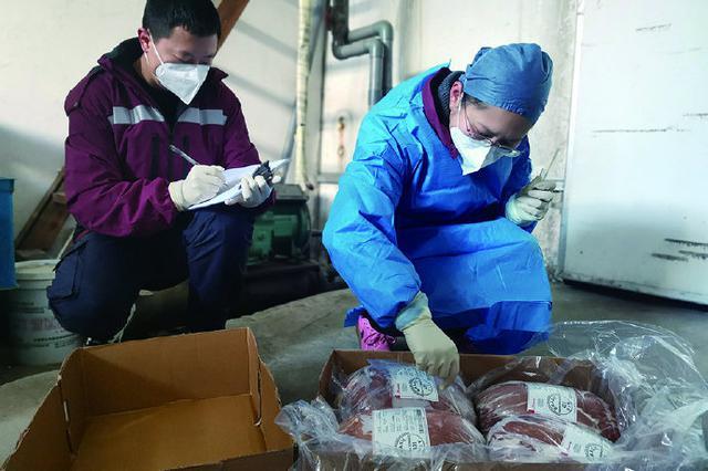 象山开展进口冷链食品执法检查 实地查看落实情况