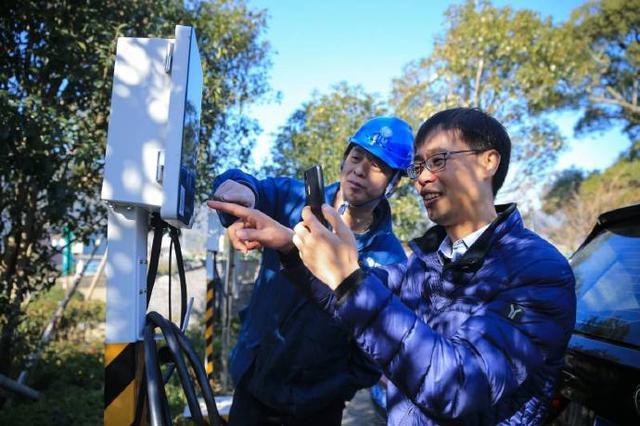 宁波首个农村公共充电站建成投运 吸引更多游客前来