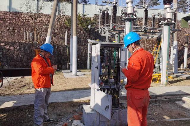 奉化110千伏大桥变电站升级改造 确保平稳迎峰度冬