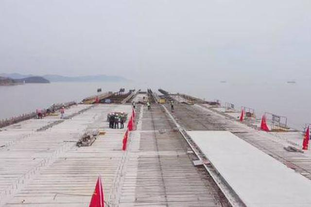 舟山港梅山港区二期工程有序推进 春节停工后重新开工