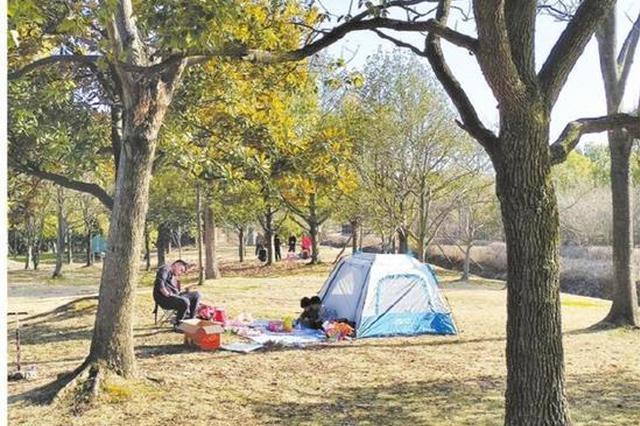 天气回暖市民纷纷踏出家门 享受寒冬过后的好春光