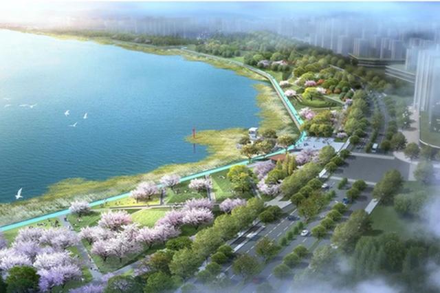 甬江南岸滨江绿带七期项目施工 预计今年年底完工