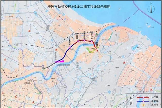 甬地铁2号线二期后通段有新进展 机械法联络通道贯通