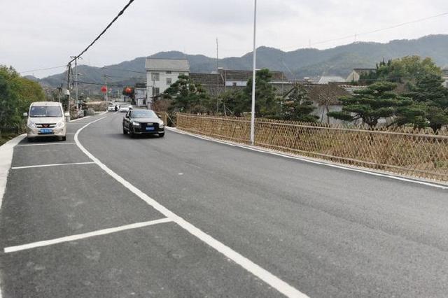 奉化拓宽王西线至长岭农村公路 提升后全长约1.9公里