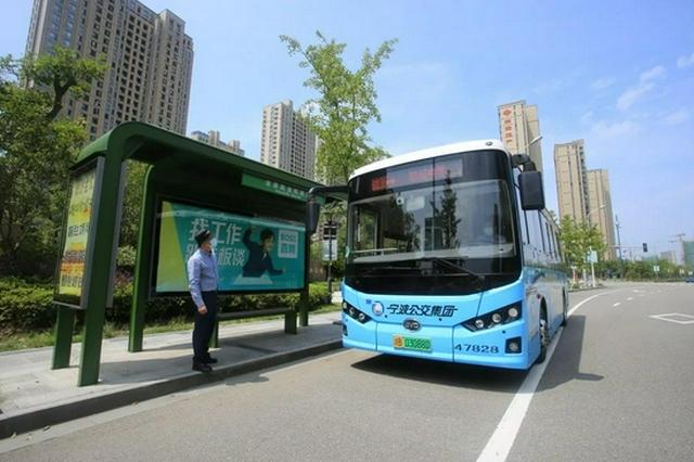 又一条微公交开通 宁波这些小区居民出行更方便了