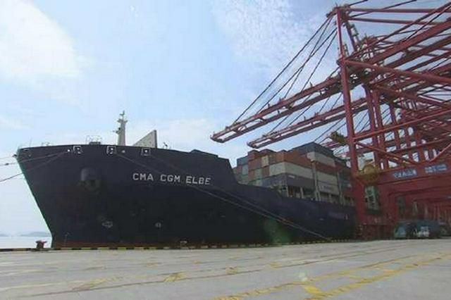 宁波舟山港梅山港区全面解封 港区有序恢复作业生产