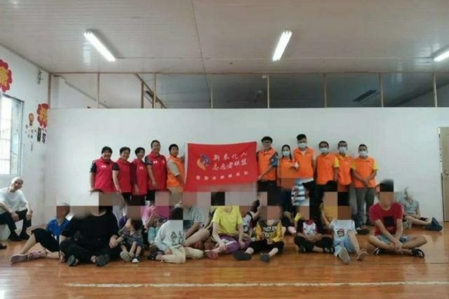奉化区委志愿服务队开展满天星计划 慰问残障青少年