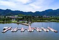 东钱湖举行桨板瑜伽活动